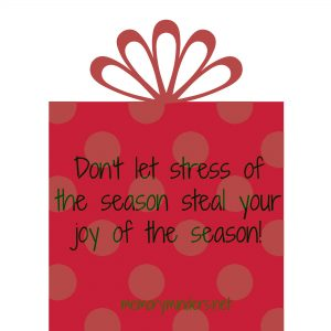 Stress of season