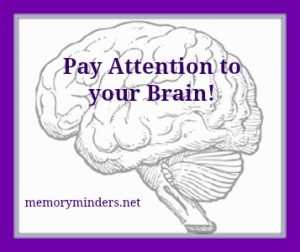 Pay attention brain