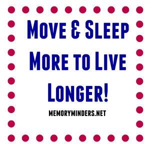 Move & Sleep more