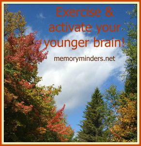 exercise & young brain trees