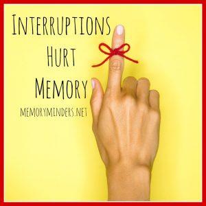 interruptions