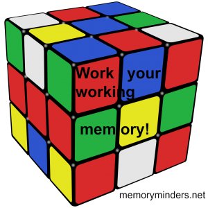 rubiks cube-working memory