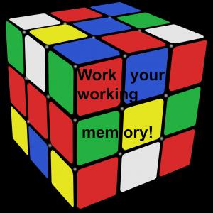 rubiks cube-working memory