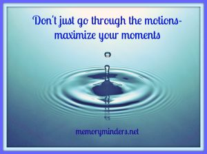 Maximize your Moments