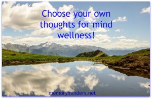 Choose your own thoughts