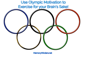 Olympics exercise motivation