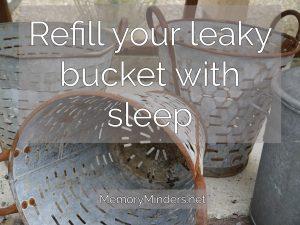 refill-leaky-bucket-sleep